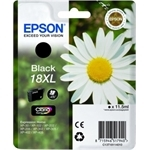 epson 18xl black, sort, bk