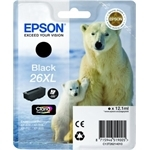 epson 26xl black, sort, bk