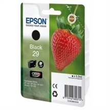 Epson 29 sort blækpatron 5,3ml original Epson C13T29814010
