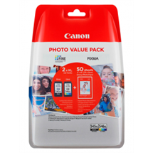 PG-545XL + CL-546XL bundle Sort og Color originale Canon High Capacity blækpatroner