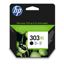 HP 303XL sort blækpatron 12ml original T6N04AE HP - Hewlett Packard