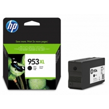 HP 953XL sort blækpatron 42,5ml original HP L0S70AE#BGX HP - Hewlett Packard