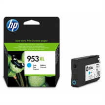 HP 953XL cyan blækpatron 20ml original HP F6U16AE#BGX HP - Hewlett Packard