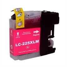 Brother LC225XL MAGENTA High Capacity fabriksny kompatibel blækpatron - ca. 1.300 sider v/5%
