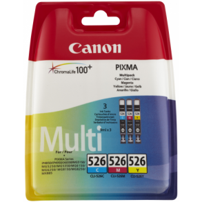 canon cli-526 multipack c,m,y