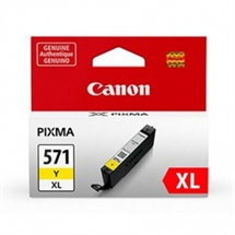 Canon CLI-571XLY Yellow original Canon blækpatron 11ml.