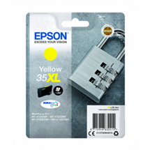 epson 35xl gul, yellow