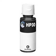 HP 30 sort blækrefill 135ml. kompatibel HP 1VU29AE