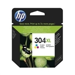 HP304XL Color blækpatron original