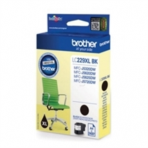 Brother LC229XLBK Sort blækpatron 1200 sider original