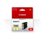 Canon PGI-1500XL Y original blækpatron YELLOW 12ml. ca. 935 sider v/5%